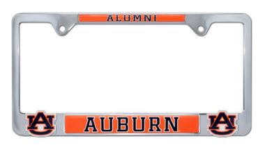 Auburn Alumni 3D License Plate Frame