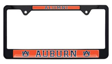 Auburn Alumni Black License Plate Frame