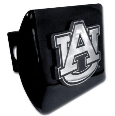Auburn Emblem on Black Hitch Cover