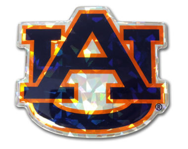 Auburn Navy 3D Reflective Decal