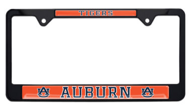 Auburn Tigers Black License Plate Frame