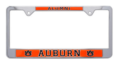 Auburn Alumni License Plate Frame image