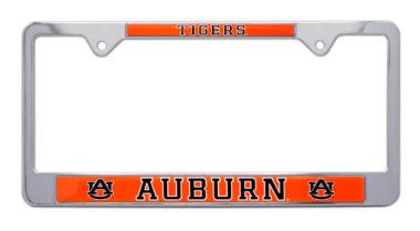 Auburn Tigers License Plate Frame image