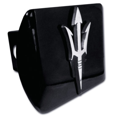 Arizona State Pitch Fork Black Emblem on Black Hitch Cover