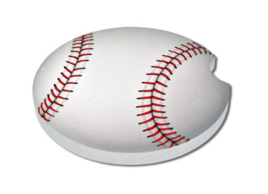 Baseball Car Coaster - 2 Pack
