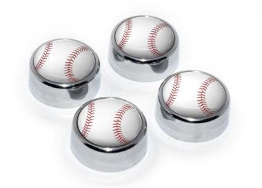 Baseball License Plate Frame Screws