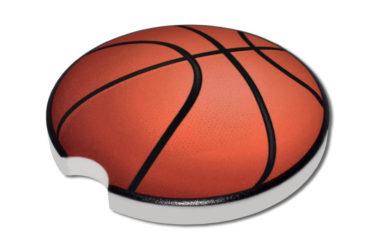 Basketball Car Coaster - 2 Pack image