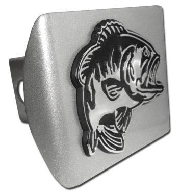 Bass Emblem on Brushed Hitch Cover image