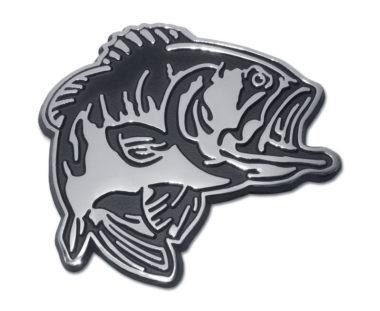 Bass Chrome Emblem