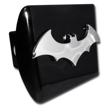 Batman Bat Emblem on Black Hitch Cover