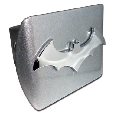 Batman Bat Emblem on Brushed Hitch Cover image