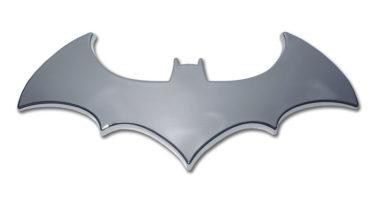 Batman Bat Chrome Emblem image