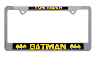 Batman Dark Knight Chrome License Plate Frame