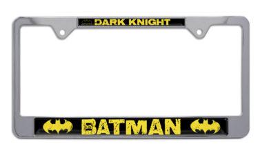 Batman Dark Knight Chrome License Plate Frame