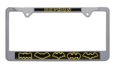 Batman Evolution Chrome License Plate Frame