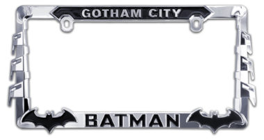 Batman 3D License Plate Frame