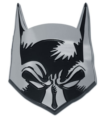 Batman Mask Chrome Emblem image
