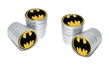 Batman Valve Stem Caps - Matte Smooth