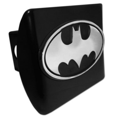 Batman Black Metal Hitch Cover image
