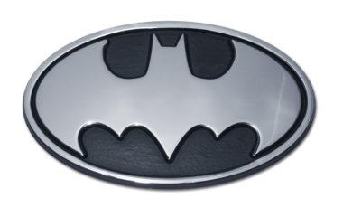 Batman Chrome Emblem