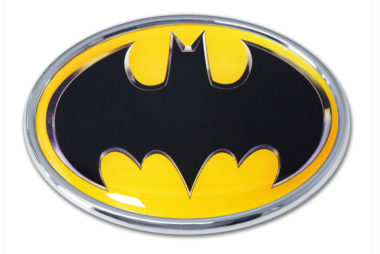 Batman Yellow Chrome Emblem image