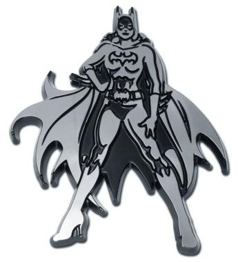 Batgirl Chrome Emblem