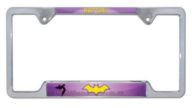 Batgirl Open License Plate Frame