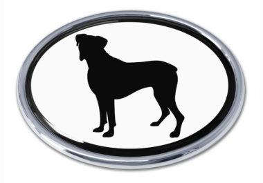 Boxer White Chrome Emblem
