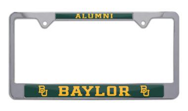 Baylor Alumni License Plate Frame
