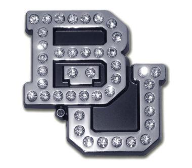 Baylor University Crystal Chrome Emblem
