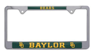 Baylor Bears License Plate Frame