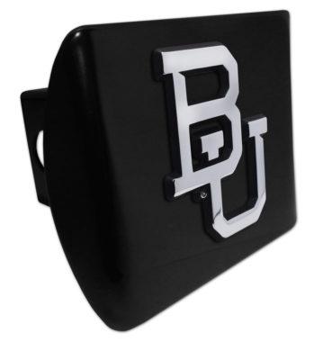 Baylor University Emblem on Black Hitch Cover