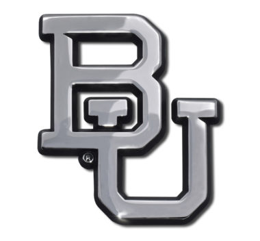 Baylor University Chrome Emblem image