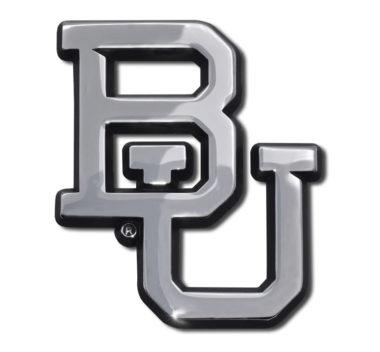 Baylor University Chrome Emblem