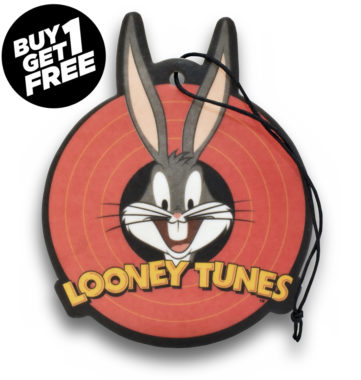 Bugs Bunny Air Freshener 2 Pack - New Car Scent