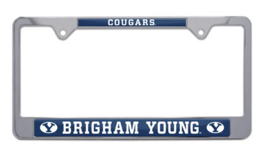 BYU Cougars License Plate Frame