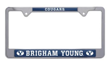 BYU Cougars License Plate Frame