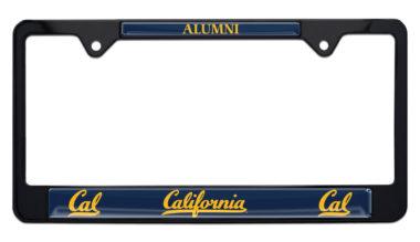University of California Berkeley Alumni Black License Plate Frame