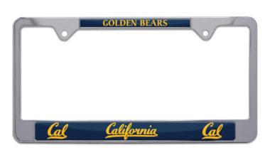 Cal Berkeley Golden Bears License Plate Frame
