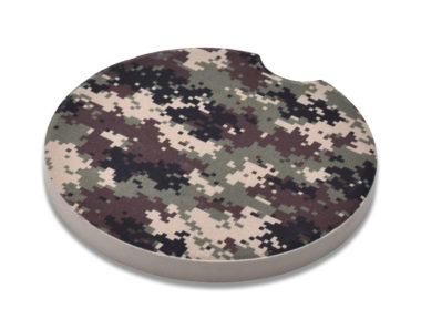 Camo Car Coaster - 2 Pack image