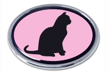 Cat Pink Chrome Emblem image