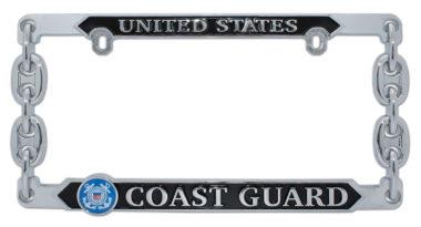 Coast Guard 3D License Plate Frame