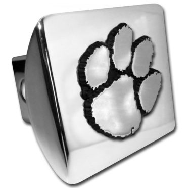 Clemson Chrome Hitch Cover image