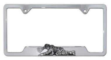 Coal Miner 3D License Plate Frame