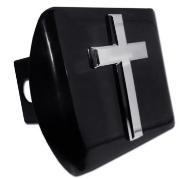 Cross Emblem on Black Hitch Cover image