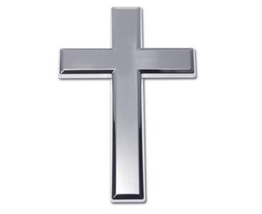 Cross Chrome Emblem image
