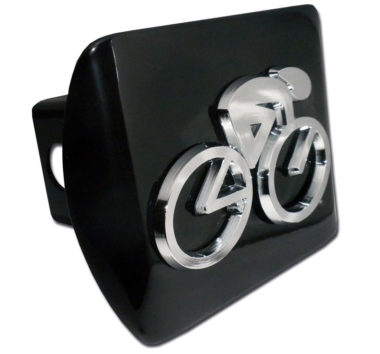 Cycling Emblem on Black Hitch Cover image