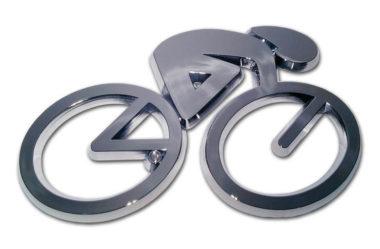Cycling Chrome Emblem