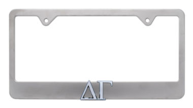 Delta Gamma Matte License Plate Frame image