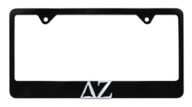 DZ Black License Plate Frame